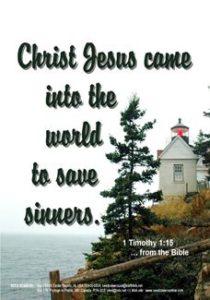 1 Timothy 1:15, Lighthouse