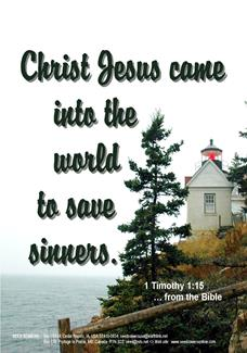 1 Timothy 1:15, Lighthouse