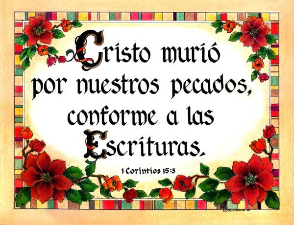 Spanish 1 Cor 15:3