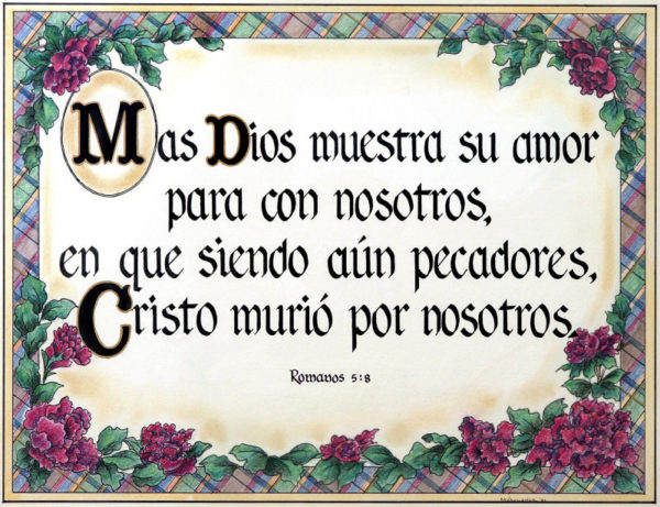 Spanish Romans 5:8