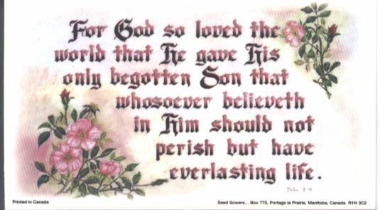 John 3:16 magnet 1