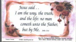 Magnet, John 14:6