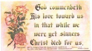 Magnet Romans 5:8