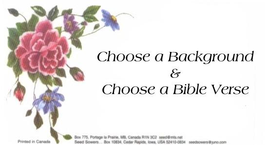 Customized Scripture Magnet